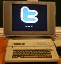 Twitter on Apple II