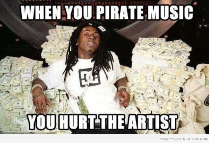 Lil Wayne / Piracy