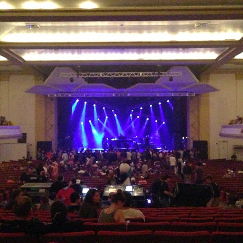 Thomas Wolfe Auditorium - Before Squarepusher