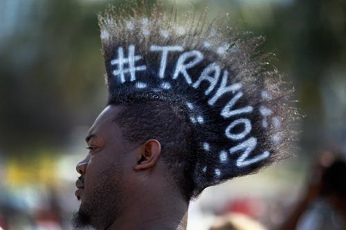 Trayvon Hashtag Mohawk