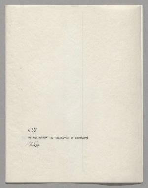 """John Cage 4'33"""" Score"""