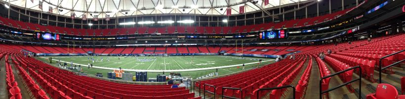 Empty Georgia Dome