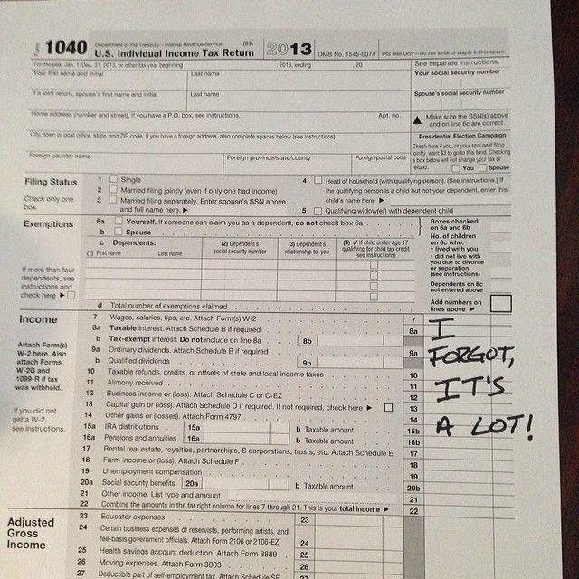 Drake Did My Taxes
