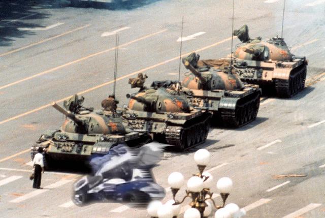 Tiananmen Tony Stewart