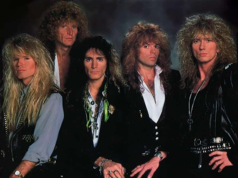 Whitesnake 1989 w/ Steve Vai