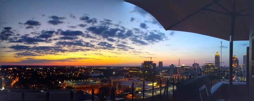 Atlanta Skyline Sunset - Day/Light